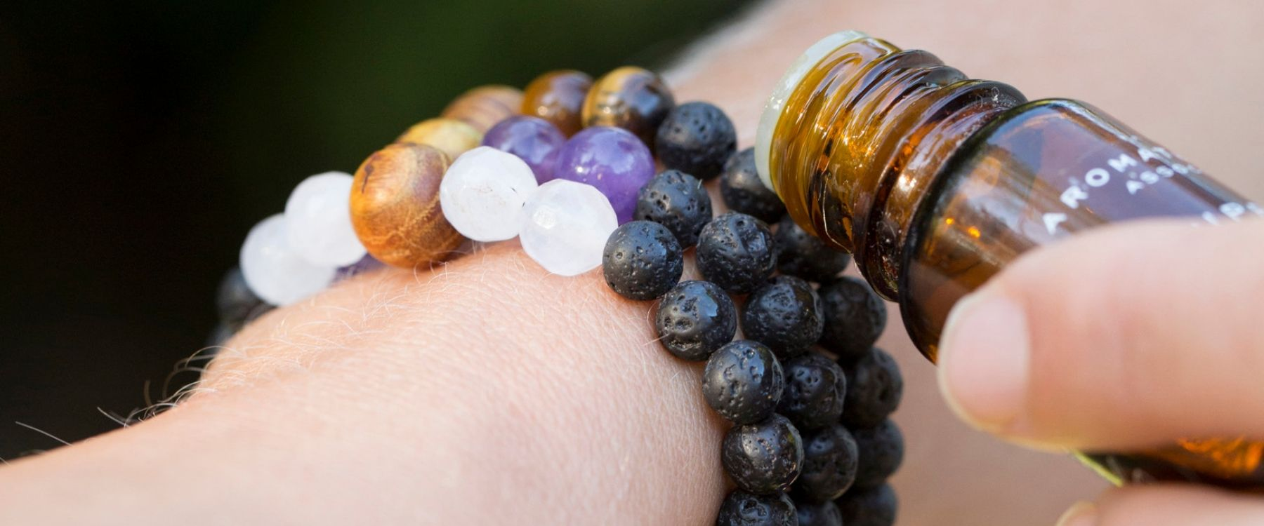 Anxiety Bracelets with Essential Oils
