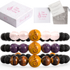 Peace Beads - 3 Gemstone Set