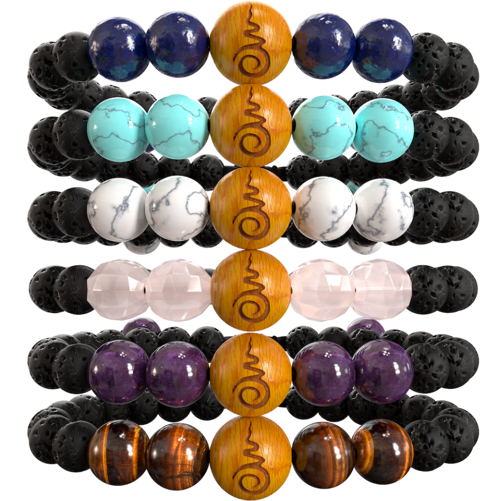 Peace Beads - 6 Gemstone Set