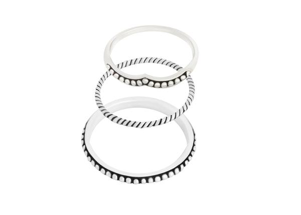 Leyla Stacking Rings