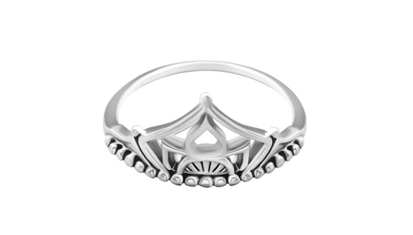 Mena Crown Ring