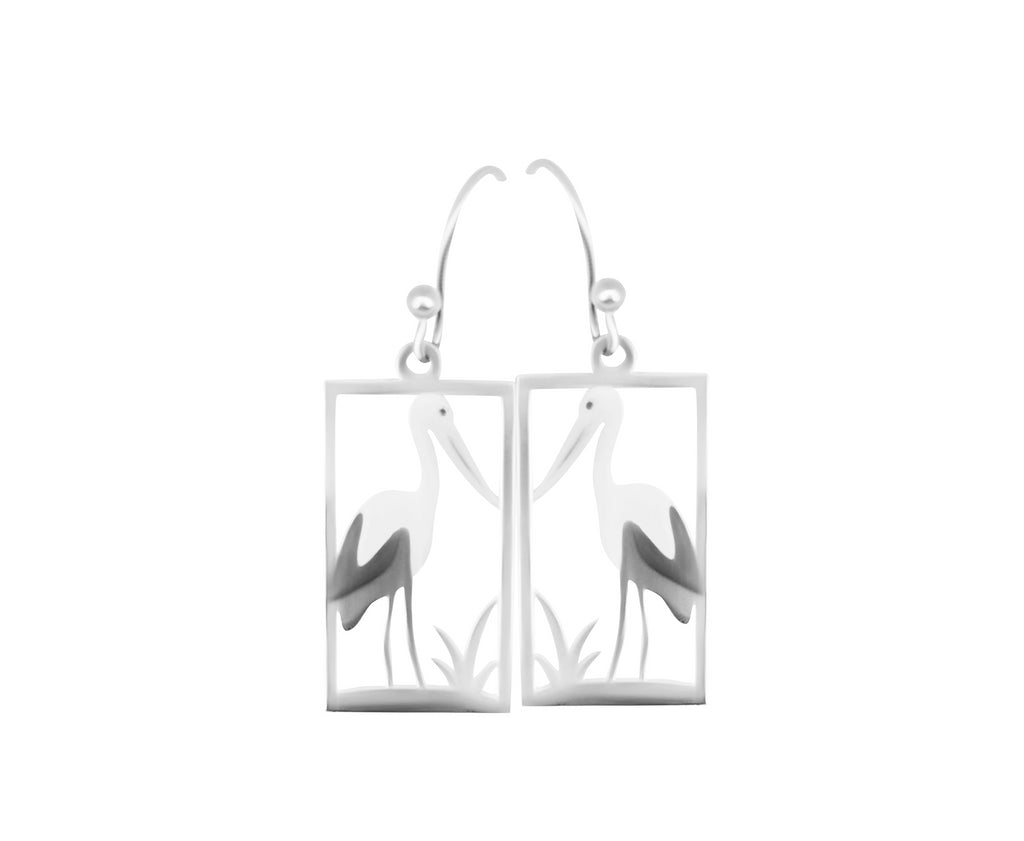 Jabiru Earrings