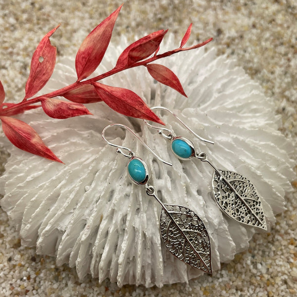 Basilia Turquoise Earrings