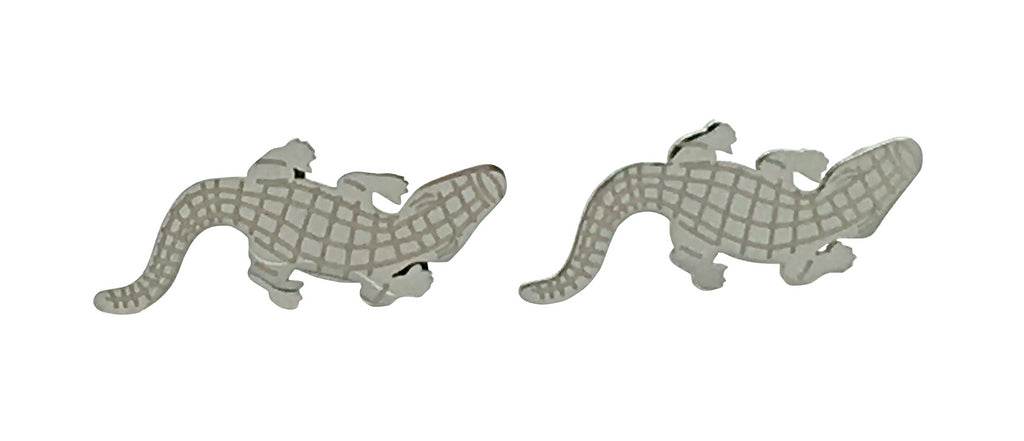 Saltwater Crocodile Stud earrings