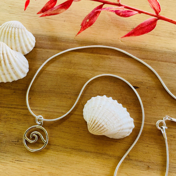 Open Wave Necklace