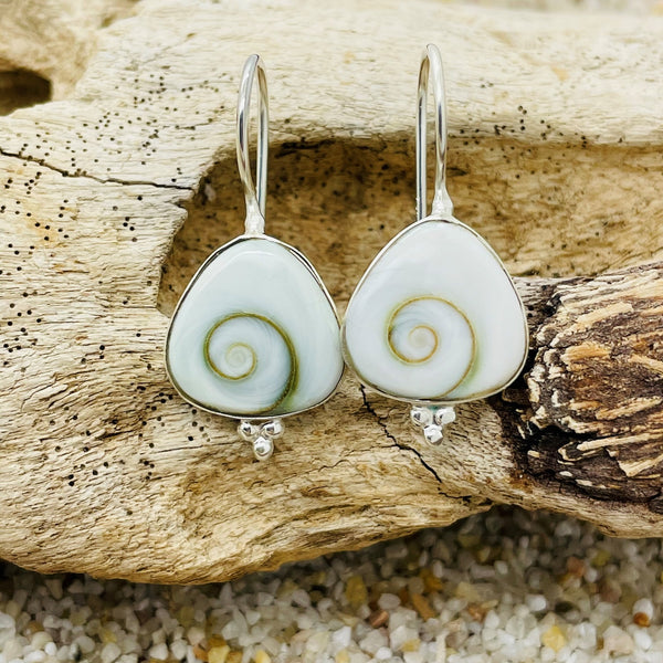 Anaka Shiva Eye Boho Drop Earring