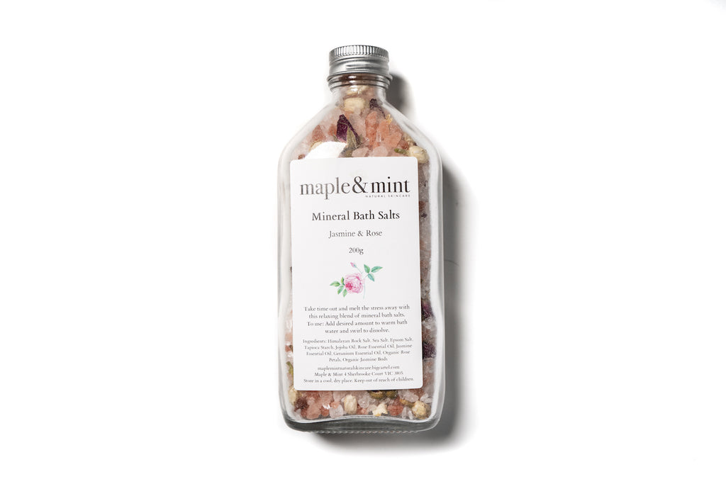 茉莉花玫瑰花礦物浴鹽 Jasmine & Rose Mineral Bath Salts
