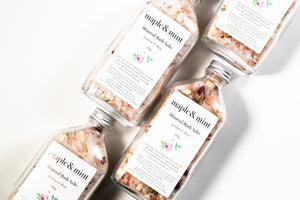Jasmine & Rose Mineral Bath Salts
