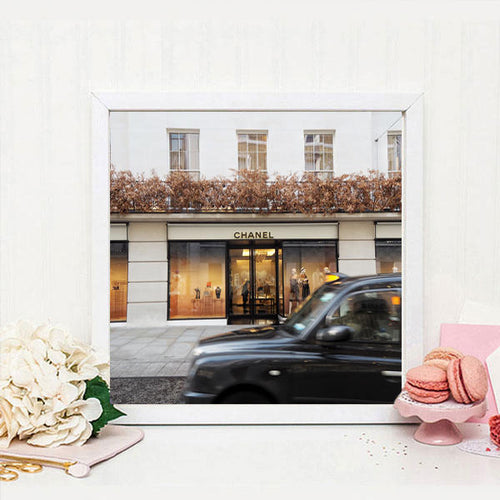 London photographic print, London wall decor, Fashion print, Classic London print, large wall print, Britain, gift for her - Ruby and B Studio