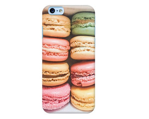 Macaron Paris iPhone 7 case, iPhone 8 case, iPhone X case, iPhone 8 plus case, Gift for her, Pretty iPhone case, Pastel iPhone case - Ruby and B Studio