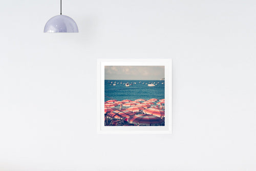 Dorm decor, aerial beach print, Italy Beach art  - Italy print - Ruby and B Studio