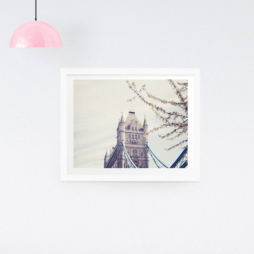 London Photography Print - Tower Bridge Print - Ruby and B Studio