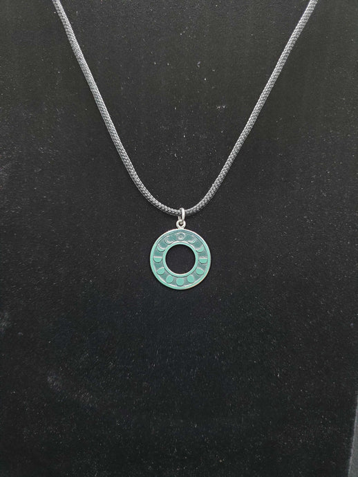 Circle Moonphase Charm