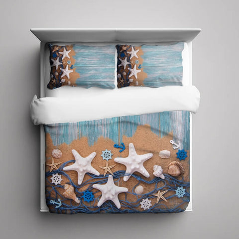 Coastal Sea Duvet Cover