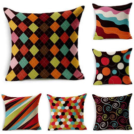 Funky Retro Cushion Covers