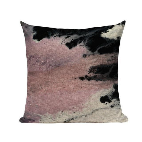 Abstract Ink Watercolor Throw Pillow Covers-Tiptophomedecor