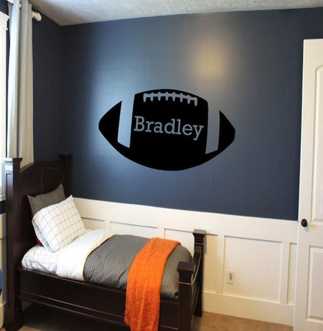 American Football Rugby Custom Wall Sticker-Tiptophomedecor-Interior-Design-Home-Decor
