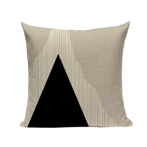 Artistic Black and White Patterns Cushion Covers-Tiptophomedecor-Interior-Design-Home-Decor