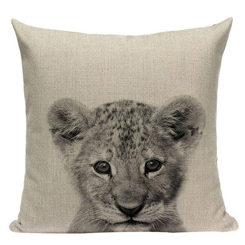 Tiptophomedecor Black White Animal Cushion Covers