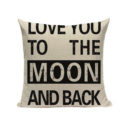 Black White Do What You Love Quote Cushion Covers-Tiptophomedecor-Interior-Design-Home-Decor