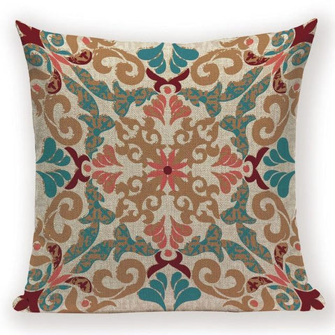 Boho Retro Quilt Pattern Pillow Cases-TipTopHomeDecor