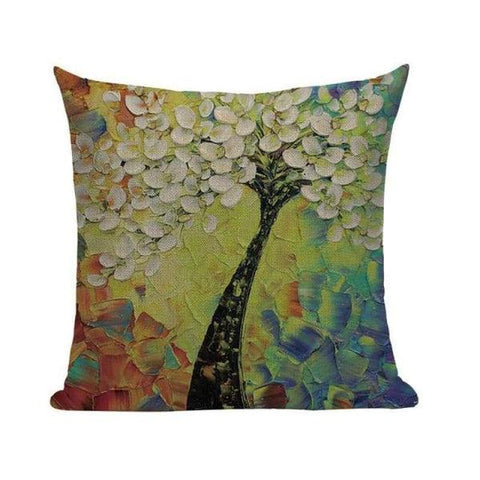 Tiptophomedecor Cherry Blossom Cushion Covers