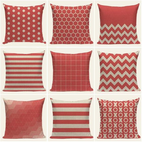 Chevron Pink Pillow Cases