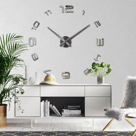 Circular Classic 3D Wall Clock Decal-TipTopHomeDecor