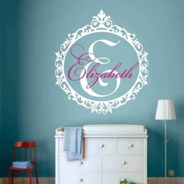 Tiptophomedecor Classic Custom Name Decal