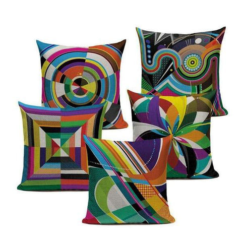 Abstract Art Cushion Covers