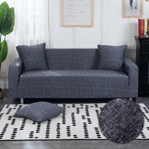 Cross Striped Pattern Sofa Cover-Tiptophomedecor-Interior-Design-Home-Decor