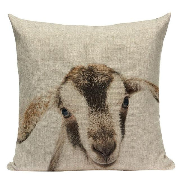 Cute Baby Animal Cushion Covers-TipTopHomeDecor