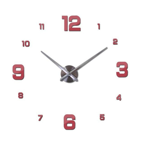 Elegant Modern 3D Wall Clock Decal-TipTopHomeDecor
