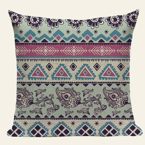 Bohemian Hippie Ethnic Soft Colors Cushion Covers-Tiptophomedecor-Interior-Design-Home-Decor
