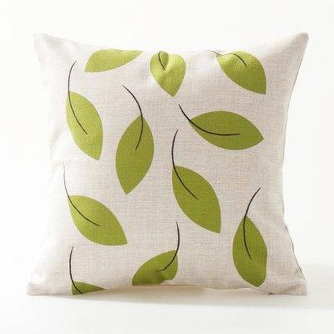 Fish Bird Tree Cartoon Throw Pillow Covers-Tiptophomedecor