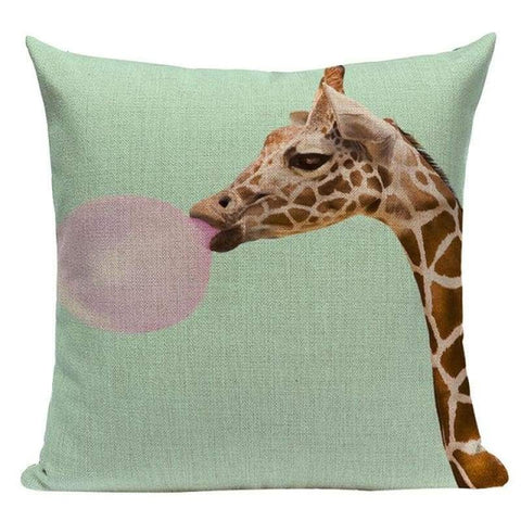 Tiptophomedecor Funny Animals Pillow Cases