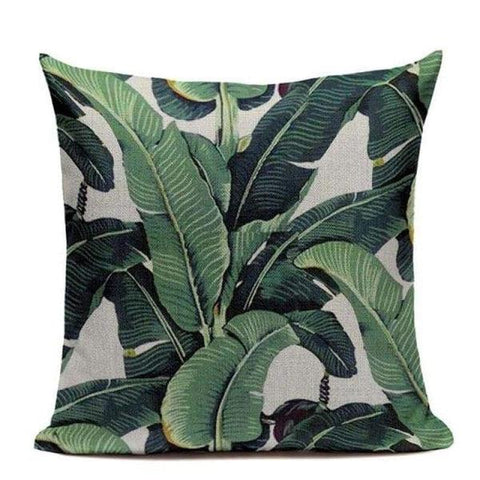 Tiptophomedecor Jungle Leaves Cushion Covers