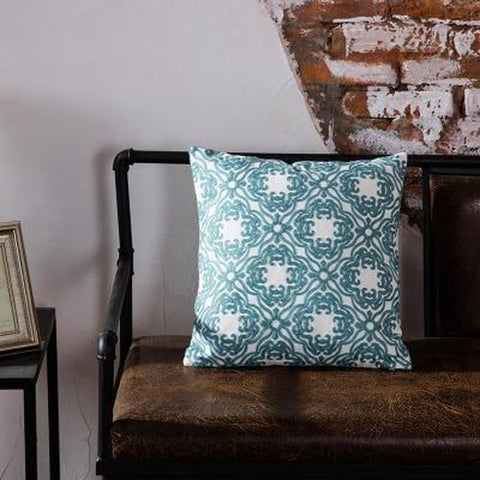 Light Teal Blue Cushion Covers-TipTopHomeDecor