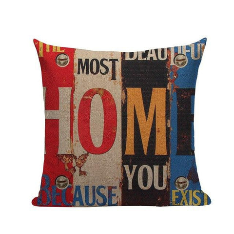 Vintage Love Hope Home Cushion Covers-Tiptophomedecor-Interior-Design-Home-Decor