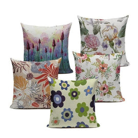Lovely Vintage Flowers Cushion Covers-TipTopHomeDecor