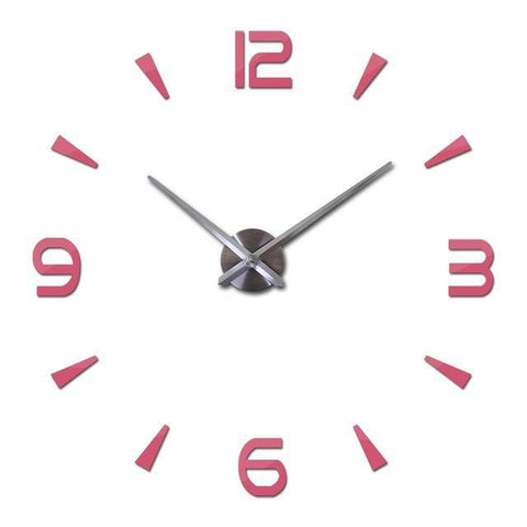 Modern 3D Large Wall Clock Decal-TipTopHomeDecor