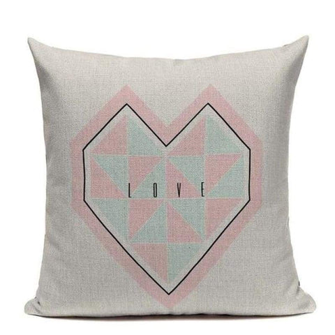 Tiptophomedecor Modern Pastel Cushion Covers