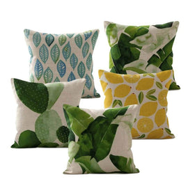 Banana Plant Leaf Cushion Covers