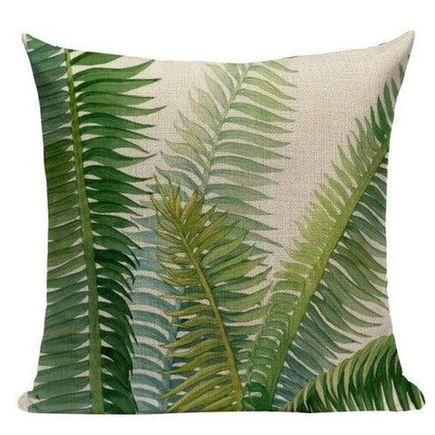 Tiptophomedecor Nature Leaves Cushion Covers