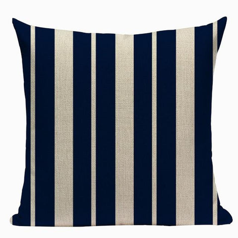 Nautical Marine Whale Fish Pillow Cases-Tiptophomedecor