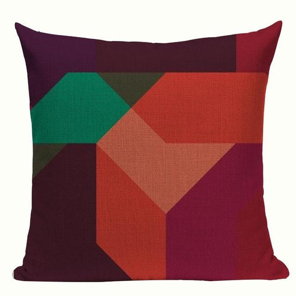 Never Boring Colorful Artistic Cushion Covers-TipTopHomeDecor