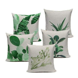 Tiptophomedecor Nordic Botanical Cushion Covers