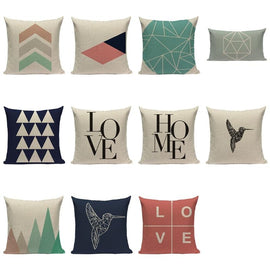 Nordic Vintage Home Love Cushion Covers-Tiptophomedecor
