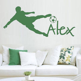 Personalized Name Football Sticker