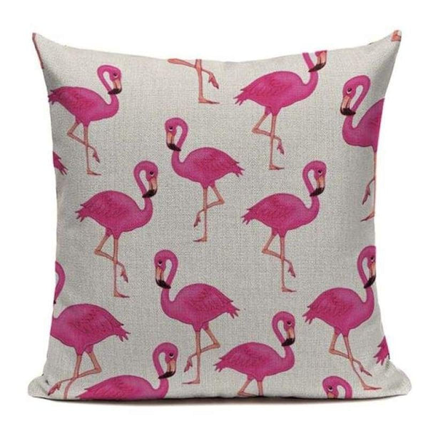 Tiptophomedecor Pink Flamingo Pillow Covers